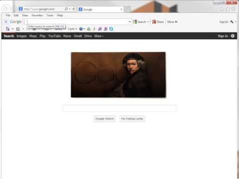 AgencyLogic Support Video - How To Enter A Website Address into your Browser.