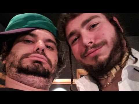 Making Music with Post Malone