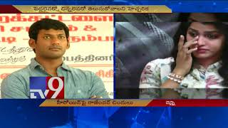 Vishal hits out at T Rajendar for insulting Dhansika, spea..