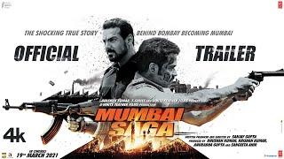 Mumbai Saga 2021 Movie Trailer Video HD