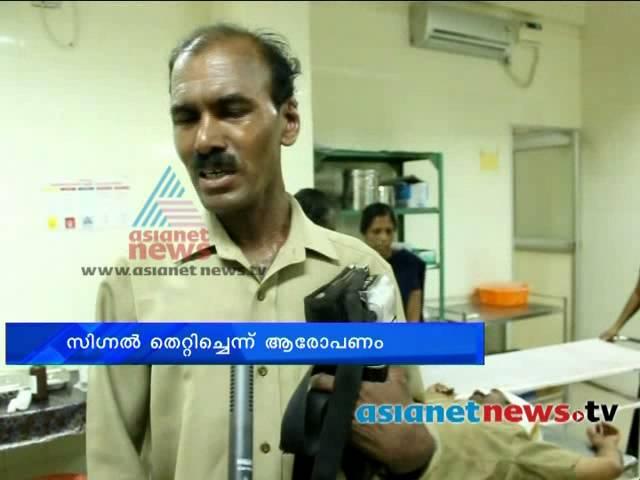Superintendent of Police Attacked KSRTC Driver:എസ്  ഐ ഡ്രൈവറെ മര്ദ്ദിച്ചു
