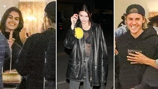 Justin Bieber Parties With Kendall Jenner, Hailey Baldwin, And Kaia Gerber... But Where's Baskin?!