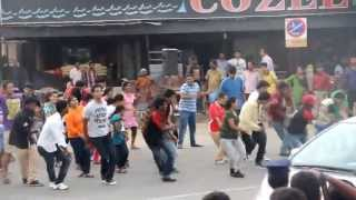 Flash mob at Besant Nagar, Chennai- NITT Golden Jubilee Celebration