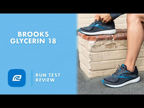 video Brooks Glycerin 18 Running Shoes Review
