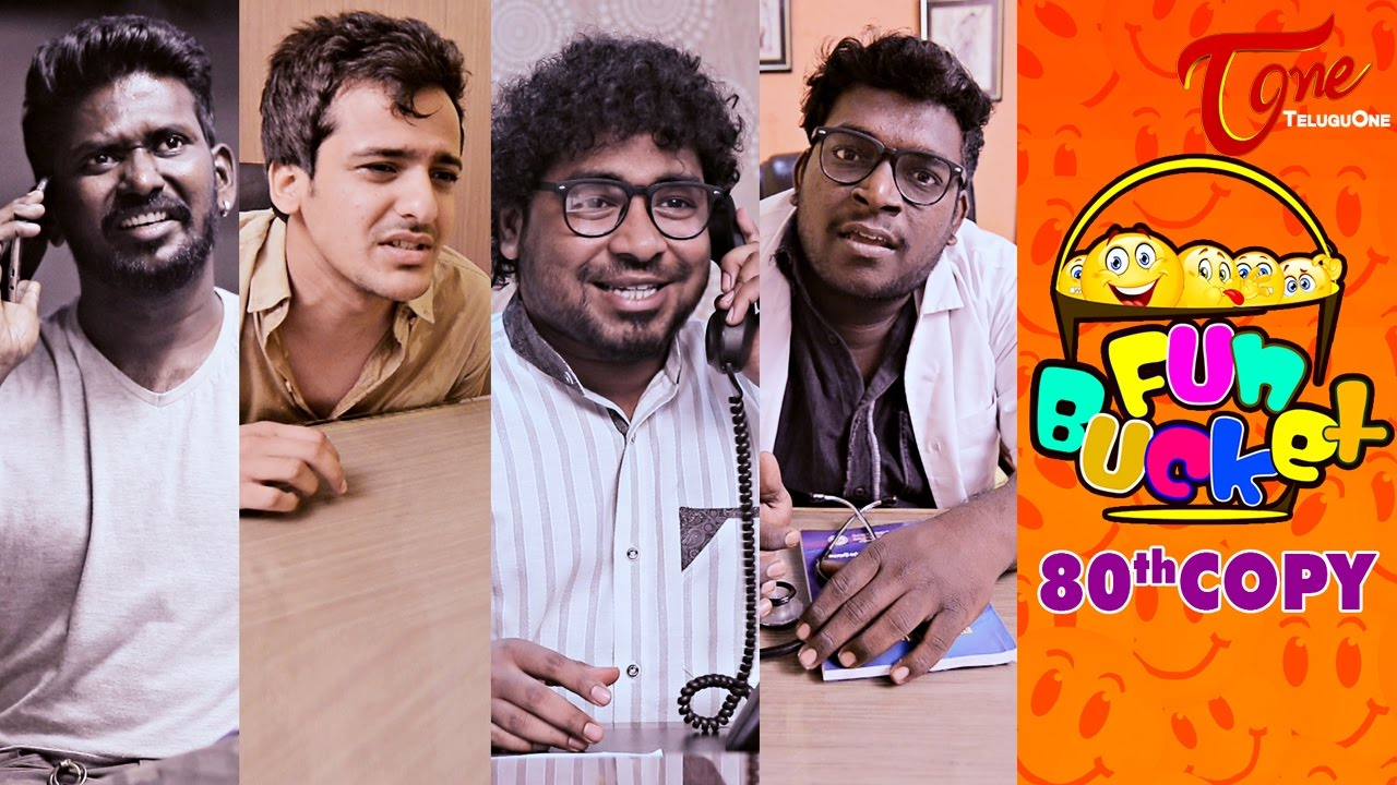Fun Bucket | 80th Copy | Funny Videos | by Harsha Annavarapu | #TeluguComedyWebSeries