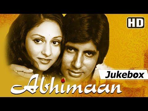 Abhimaan (1973) Songs | Amitabh Bachchan - Jaya Bachchan | Popular Hindi Songs [HD]