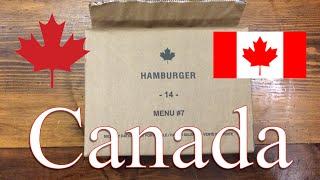 Canada: Hamburger Menu #7 ~2014~