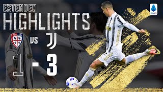 Cagliari 1-3 Juventus | Ronaldo Scores Perfect Hat-Trick! | EXTENDED Highlights