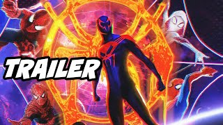 Spider-Man Into The Spider-Verse Extended Trailer Marvel Easter Eggs