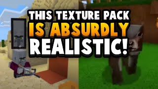 This Texture Pack Is *TOO* Realistic