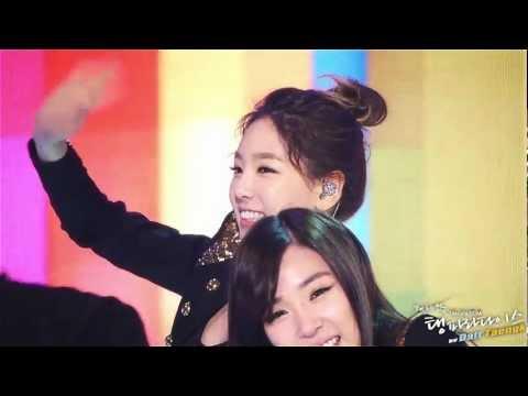2011/10/17 KBS Joy BIG 콘서트 태연 - Gee 직캠 by DaftTaengk