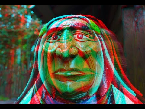 Amusement Park 3D ! Relaxation and Meditation ! ( PART 4 ) ! 3D VIDEO