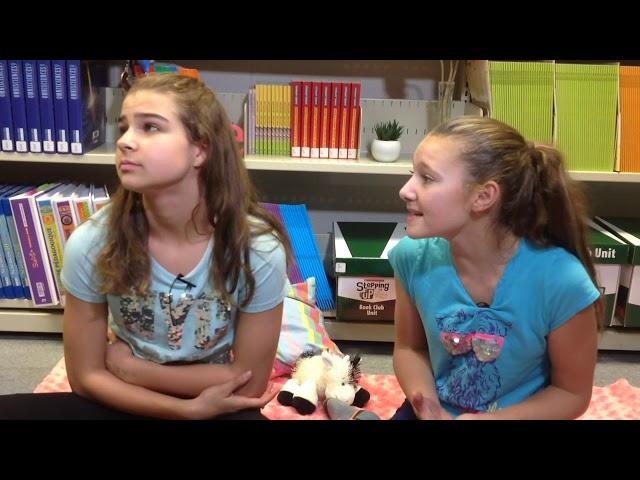 Olivia et Amélie du participant Amélie M. & Olivia B.