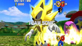 Sonic Heroes - Team Battles with Team Super Sonic