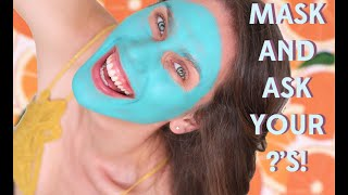 MASK & ASK Q&A FOR THE FIRST DAY OF SUMMER! Taking the #ColdPlunge with Ole Henriksen!