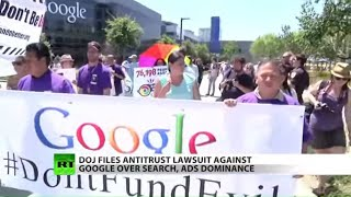 FULL SHOW: Google charged over 'search dominance' in lawsuit