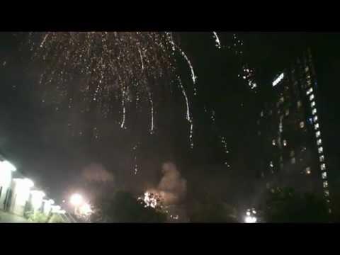 Alchemy Fireworks - Birmingham City Council ArtsFest - 2012