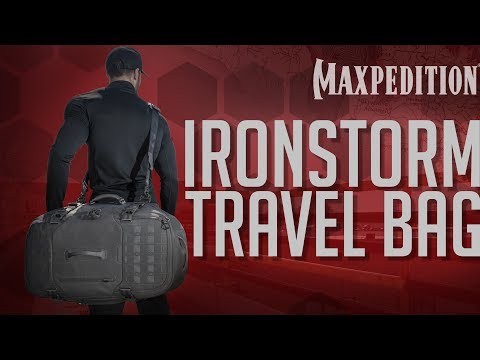 MAXPEDITION Advanced Gear Research IRONSTORM Adventure Travel Bag