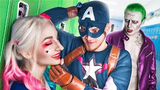 Superheroes at College  / Funny Situations