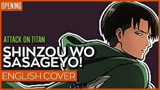 Attack on Titan Season 2 OP TV-Size ENGLISH | Kuraiinu