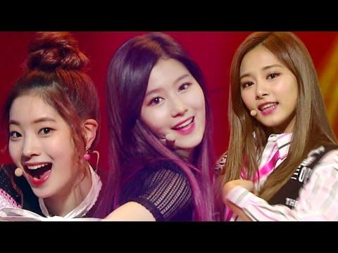 《Comeback Special》 TWICE - Intro + KNOCK KNOCK @인기가요 Inkigayo 20170226