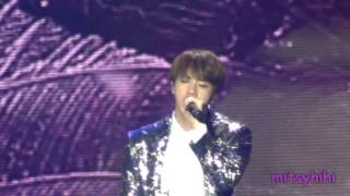 170320 BTS The Wings Tour in Brazil Fancam Part 11 - Awake Jin solo
