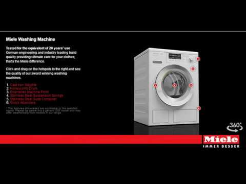 Miele WDD030 Freestanding EcoPlus Comfort 8KG Washing Machine