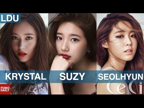 Krystal Jung, Suzy Bae, Seolhyun • Like, DM, Unfollow