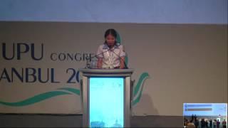 Nữ sinh Nguyễn Thị Thu Trang - Hải Dương đọc bức thư hay nhất thế giới trước đại diện 190 nước