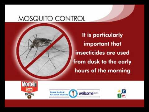 Tip 5: Appropriate mosquito repellents and aerosols -- How to use them most effectively