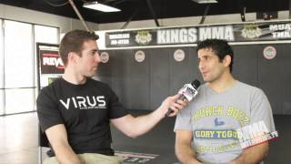 Beneil Dariush in UFC debut