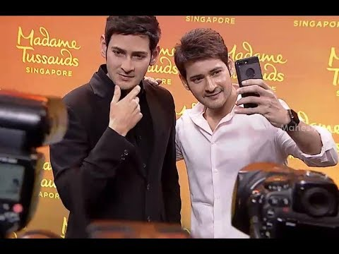 Super Star Mahesh Babu Wax Statue Launch