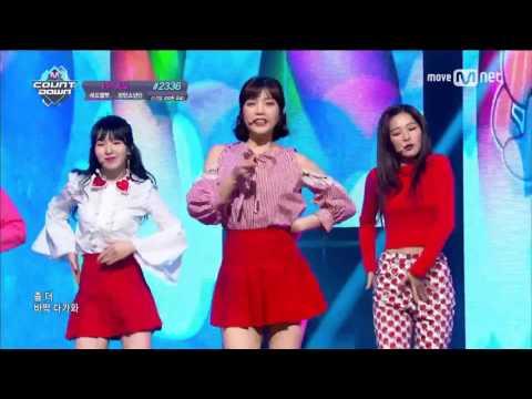 Red Velvet 「Rookie」(2017年2月23日放送「M COUNTDOWN」)