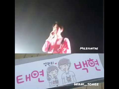Baekhyun reaction to baekyeon's banner