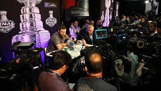 Blues' best bits from Stanley Cup Final Media Day