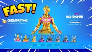 Tricks to Unlock ALL Gold Relic Styles FAST in Fortnite!
