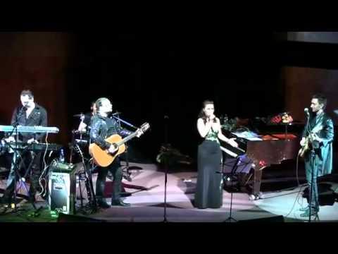 Аня Воробей и Рок Острова   Белая роза концерт в ЦДХ 15 04 2010