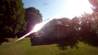 DRONE SPYING ON NEIGHBORS GOES WRONG
