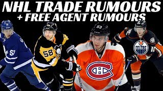 NHL Trade Rumours - Habs / Flyers Deal? Oilers, Leafs, Rangers & Pens