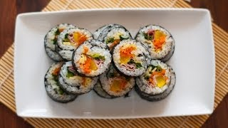 [Eng Sub]紫菜包饭 How to Make Korean Kimbap