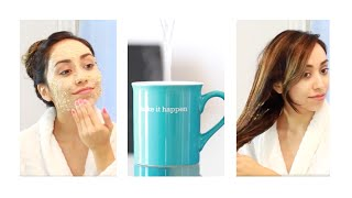 DIY AT HOME SPA DAY | PAMPER ROUTINE | STRESS RELIEVER