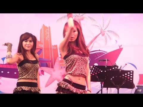 Happy Girls 6 張惠妹 火(1080p)@2011高雄海洋博覽會暨遊艇展