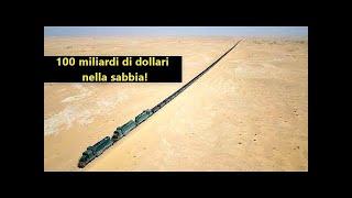 Gli Arabi Stanno Costruendo Una Ferrovia Nel Deserto!