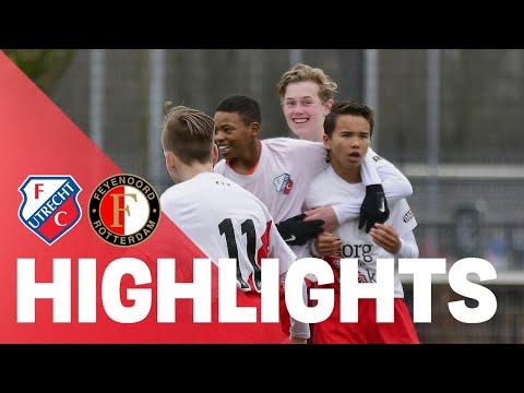 JEUGD | FC Utrecht O14 knokt zich terug tegen Feyenoord O14