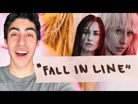 Fall in Line - Christina Aguilera Ft. Demi Lovato [REACTION]