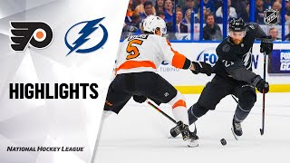 NHL Highlights | Flyers @ Lightning 02/15/20