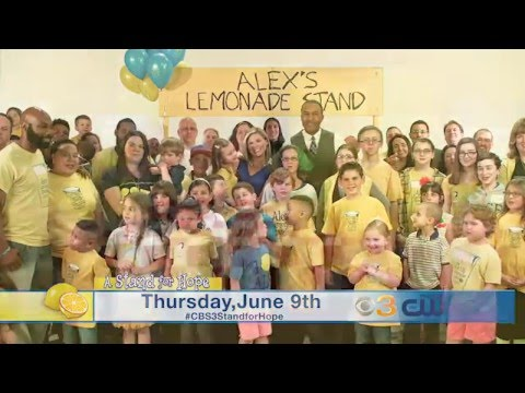 CBS3 A Stand for Hope Telethon 2016