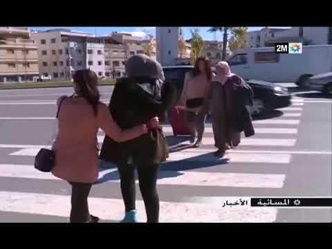 طنجة مدينة يحترم سائقوها الراجلين في الممر الخاص بهم