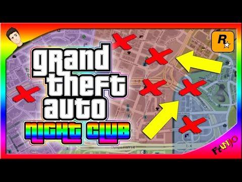 TOUS les EMPLACEMENTS des NIGHT CLUBS de GTA 5 Online ...