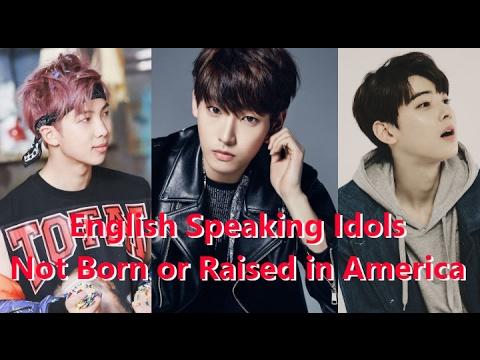 [TOP 10] Top 10 English Speaking Kpop Idols Not Born or Raised in English Speaking Countries